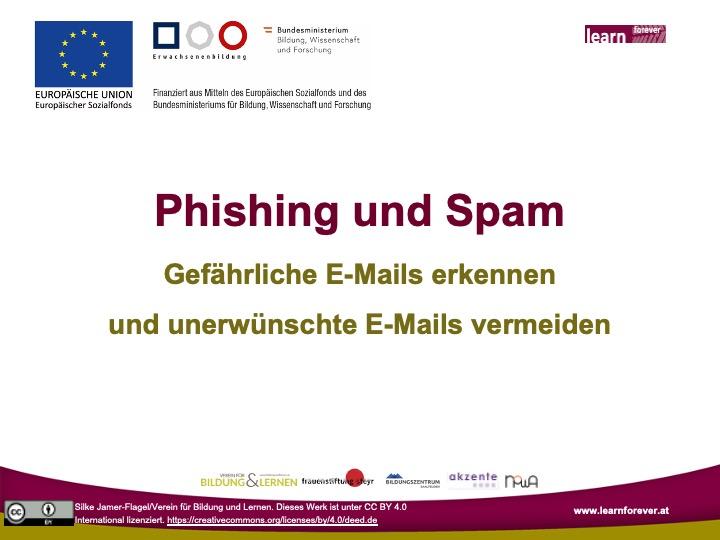 Präsentation_Spam und Phishing